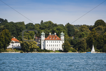 Pocci Castle at Starnberg lake