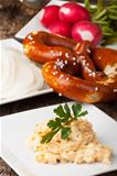 bavarian specialities on small plates
