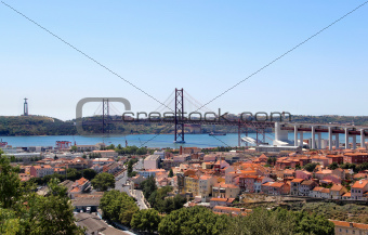Lisbon, Portugal, 25th of April Bridge