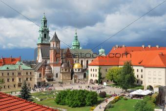 Krakow.  Wawel Cathedral