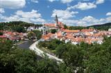 Cesky Krumlov panorama