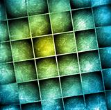 Grunge squares design