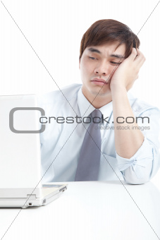 Businessman with stress