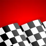Racing Checkered Flag Finish