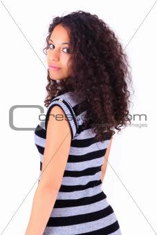 Portrait of Beautiful Woman african