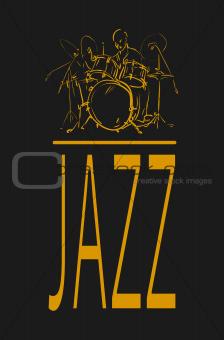 Jazz drummer.