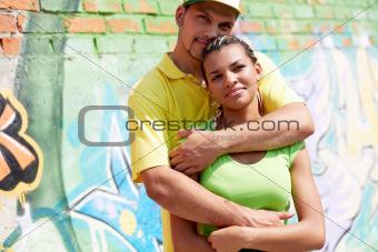 Serene couple