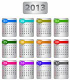 Calendar for 2013 year