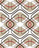 Vintage geometric seamless texture