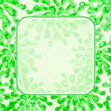 Green Floral Invitation Card