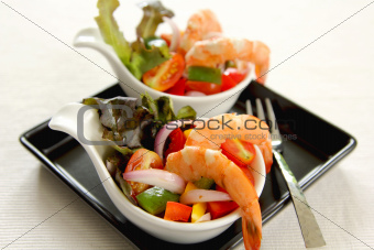 Prawn cocktail salad