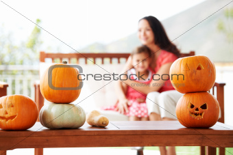 Prepared pumpkins