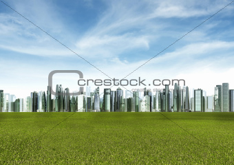Green Futuristic City