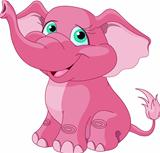 Pink elephant