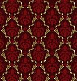 Luxurious vector brocade pattern