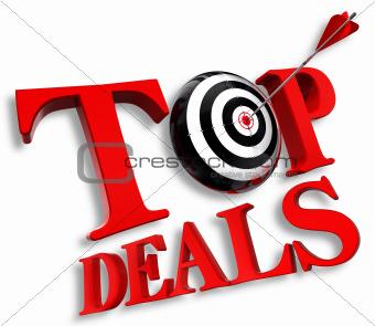 top deals red logo