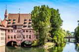 Heilig Geist Spital Nuremberg Bavaria Germany