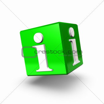 Green Info Box Backward