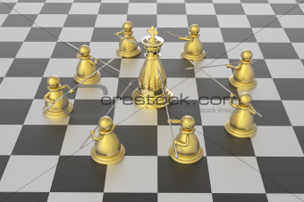Checkmate in chess competition