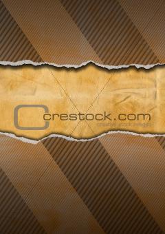 Vintage Ripped Cardboard