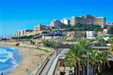 Miracle Beach in Tarragona, Spain