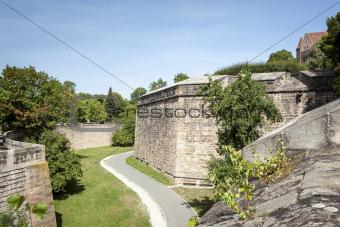 old wall Nuremberg