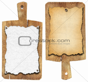Old Notebook Cutting Boards