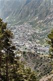 andorra la vella view from a distance