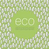 Ecology poster design background. Vector illustration, EPS10