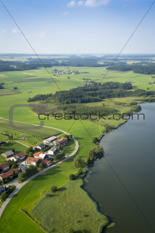 flight over Bavaria