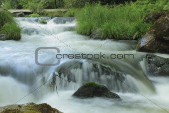 Umia River, Caldas de Reis, Spain
