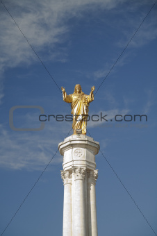 Jesus Statue Fatima, Portugal