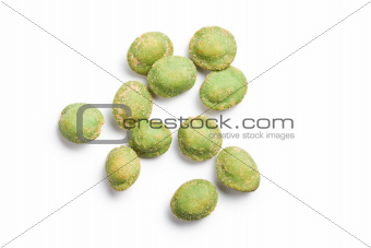 wasabi snack peanuts 
