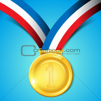 Number One Gold Medal