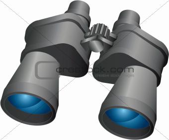 Binoculars,vector