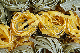 tagliatelle pasta food background