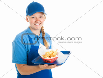 Fast Food Worker - Teenager