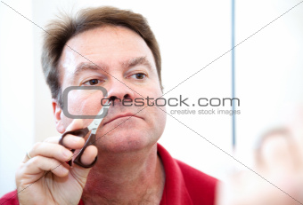Trimming Nose Hair