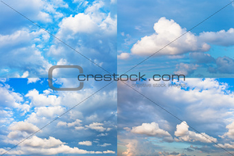 cumulus cloudscapes