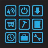 simple blue icons 02