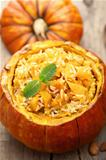 pumpkin risotto