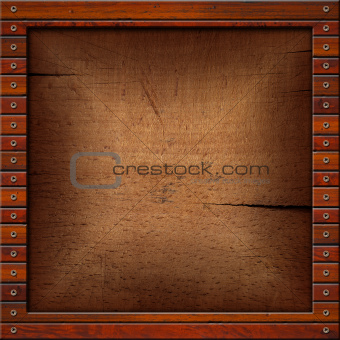 Vintage Old Wooden Frame