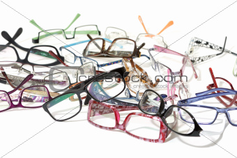 a lot of glasses