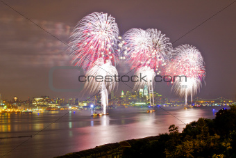 Fireworks Display - New York City