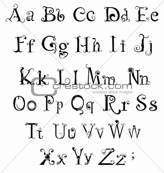 Image 4844630 Gothic Alphabet From Crestock Stock Photos