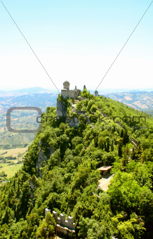 Cesta tower on Monte Titano, San Marino
