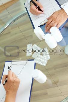 Prescribing tablets