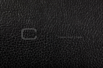 Black shiny leather texture