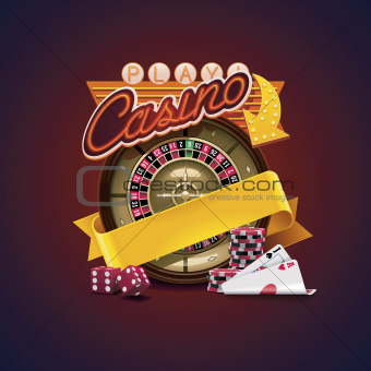 Vector casino icon