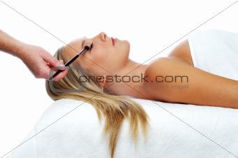 Woman having a beauty spa treatment